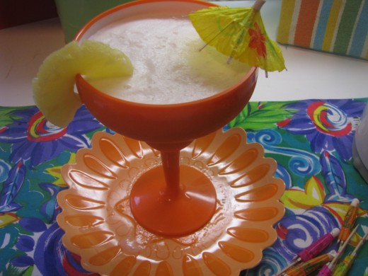 how to make pina colada without coconut cream