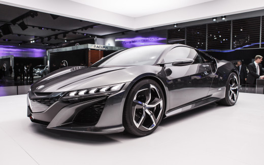 2013 Acura NSX concept - it is even more import for a performance car engine to follow the proper break-in procedures.