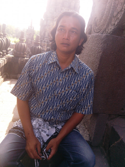 Our tour guide, Sumantri