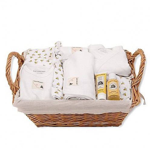 Organic pima cotton gift sets for the new baby are the perfect choice for a baby shower.