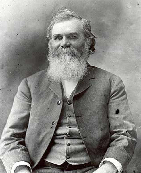 The founder of chiropractic, Daniel David Palmer