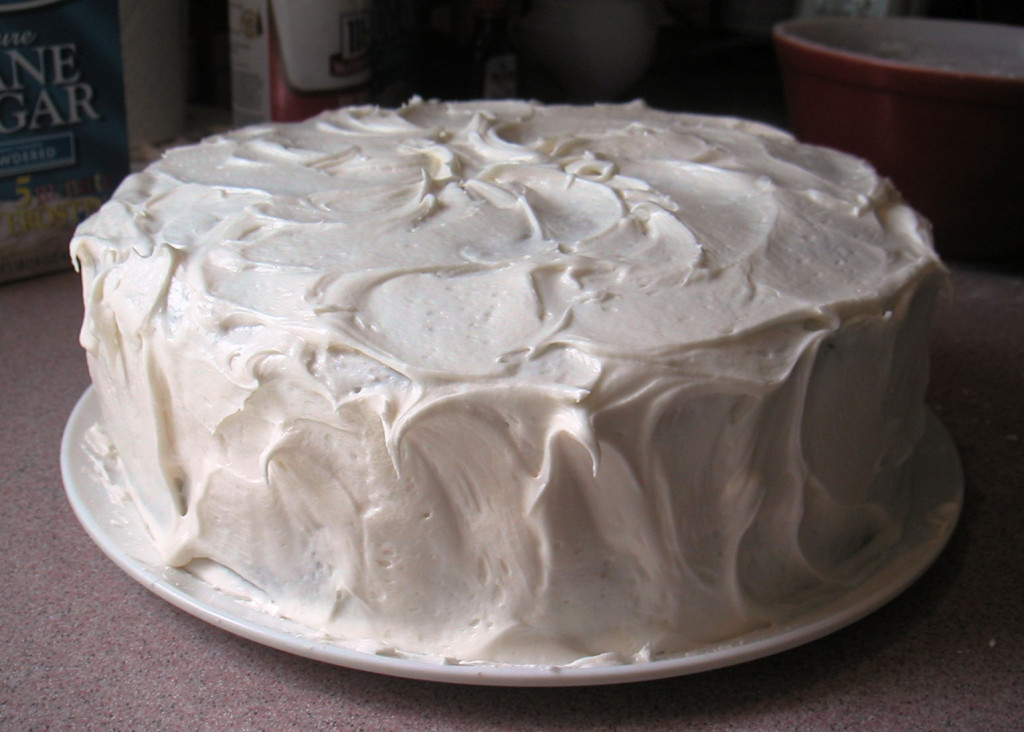Moist Homemade Carrot Cake from Scratch with Cream Cheese ...