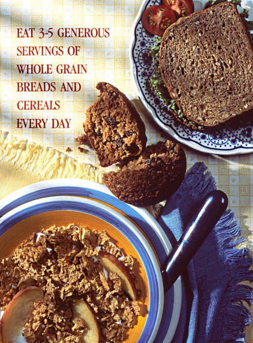 It is hard to get enough whole grains in the diet as the supermarket shelves are stuffed full of the processed stuff.