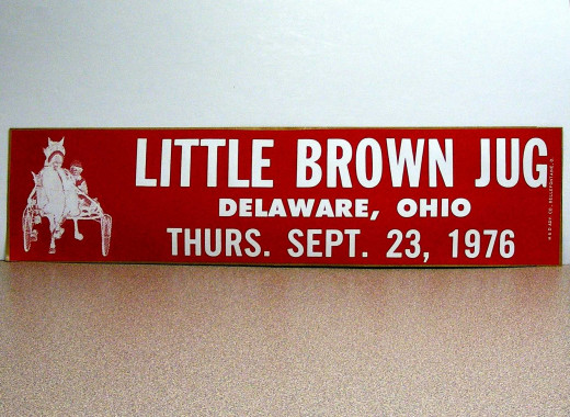 Original bumper sticker from 1976