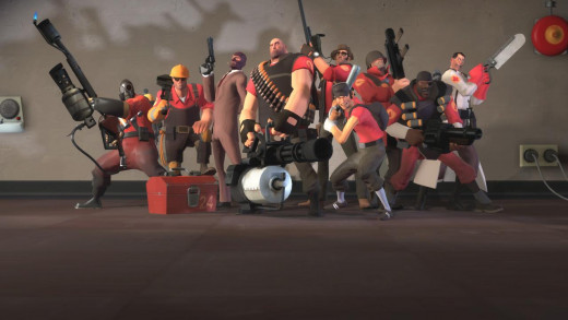 Team Fortress 2, one of my favorite games, period.