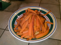Scrumptious Roasted Carrots With Garlic