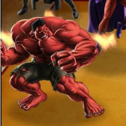 Red Hulk is heating up