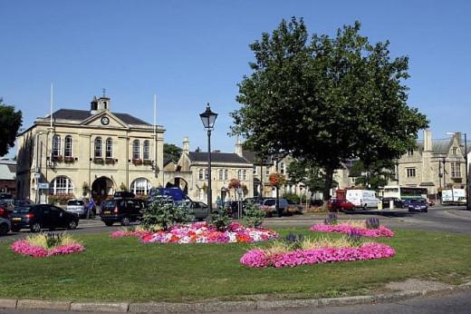 Melksham town centre