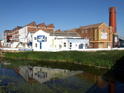 Factories in Melksham