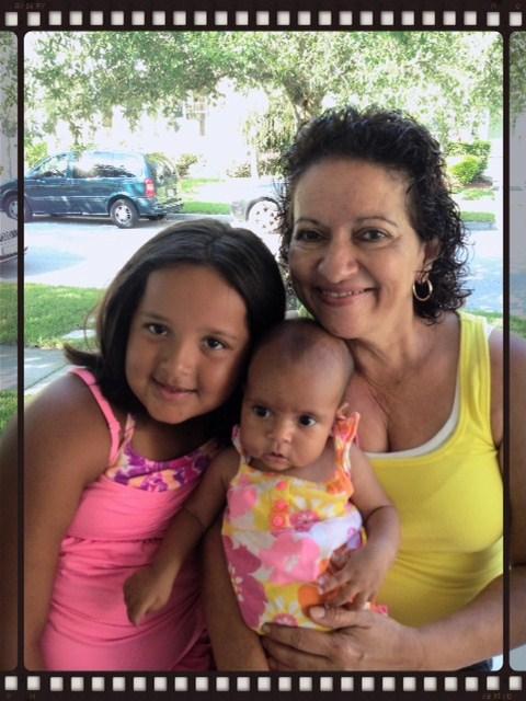Faith, Lily and Grandma Sunshine