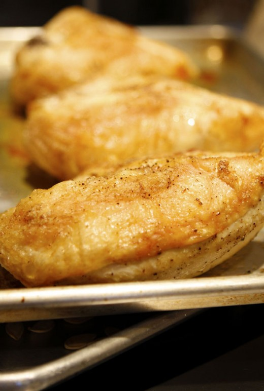If you love super crispy boneless chicken breast then you have to try this great tasting recipe the key is baking it right on the oven rack.