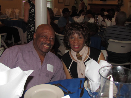 My oldest sister Janie and her husband Henry were thrilled to be present as well. Janie is the oldest child that is living, of my mother Elease and father Earlie.
