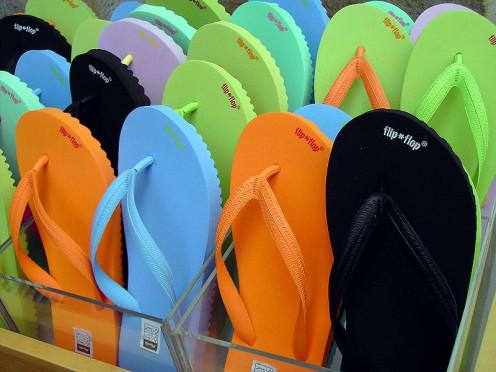 Viele flfl  flip flops