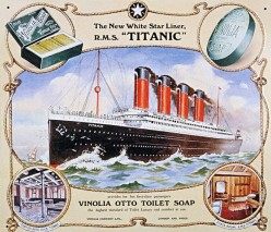 Original poster of RMS Titanic, 1912.