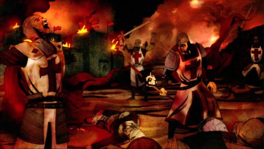 The Crusades were actually a series of wars over several hundred years.