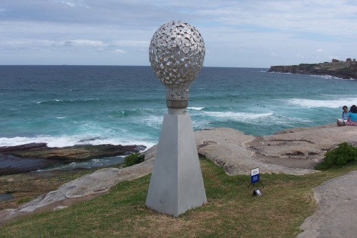 The flight of the bogong by Marguerite Derricourt.  Made from stainless steel and 3mm marine grade aluminium.