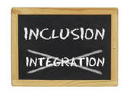 most neighborhoods are inclusive, not integrated.