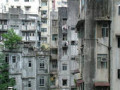 poverty in the city slums