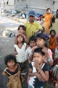 street side beggars