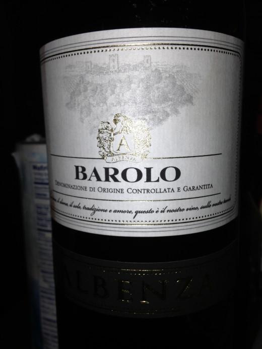Albenza Barolo 2007