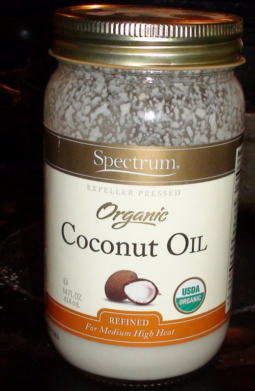 Organic coconut oil. Good for you and an easy butter or oil substitute.