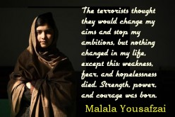 Malala Yousafzai Quotes about Education