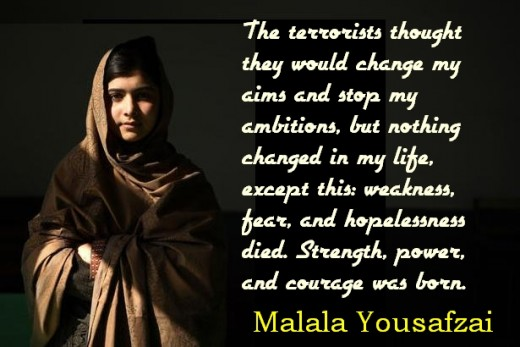 Malala Quotes I Speak