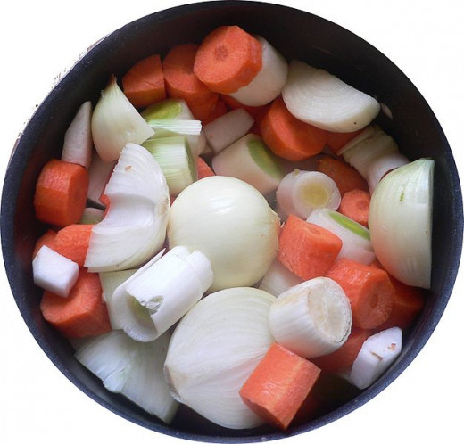 Turnips go well with carrots, onions, potatoes in stews, soups and curries.
