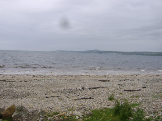 Looking across Loch Indaal towards Bruichladdich and Port Charlotte from The Strand