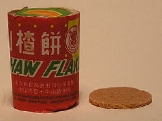 Chinese hawthorn titbit flakes