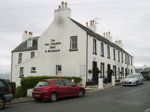 The Port Charlotte Hotel, Islay