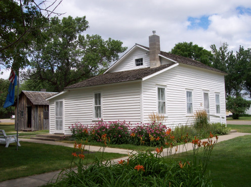 The Surveyors House in which the Ingalls lived in.