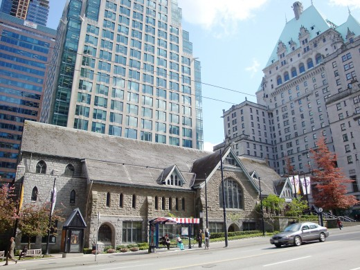 Christ Church Cathedral on Burrard Street