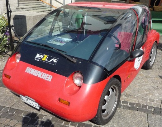Modern electric vehicles are compact, light and very efficient