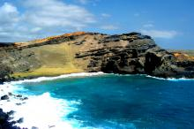 Green Sand Beach, Hawaii