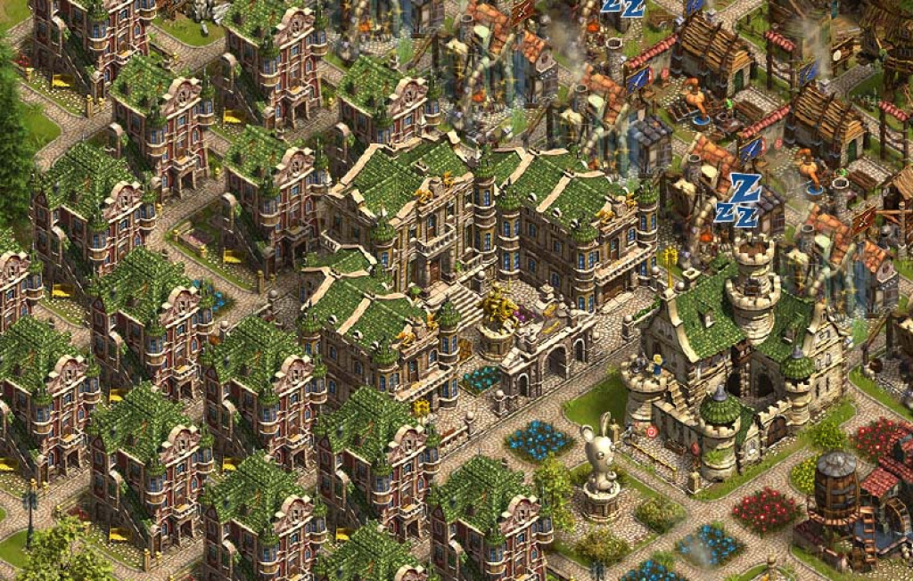 Settlers online gameplay