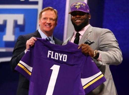 Sharrif Floyd, Minnesota Vikings