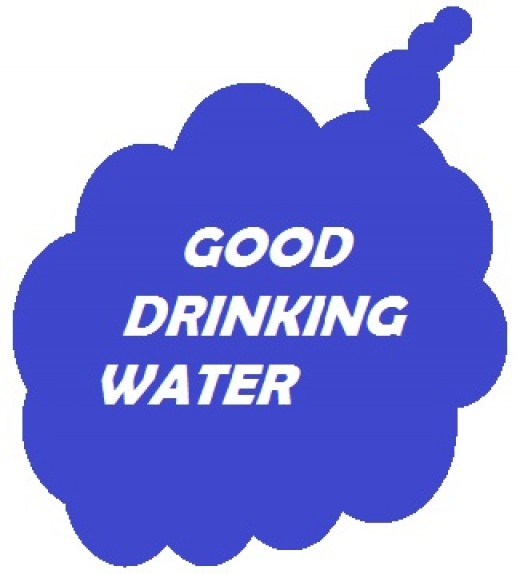 Good drinking water increases health and prevents disease.