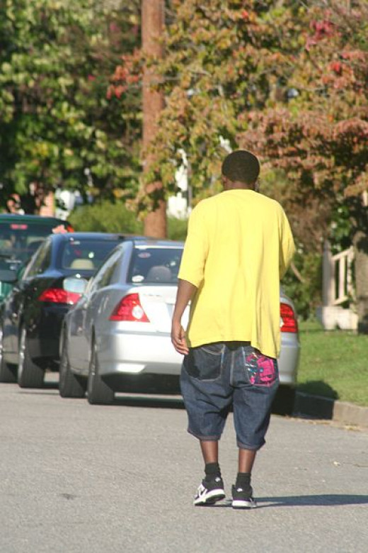 Sagging and loose clothing