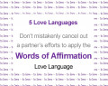 Words of Affirmation – when you express this love language, but it just isn't working...