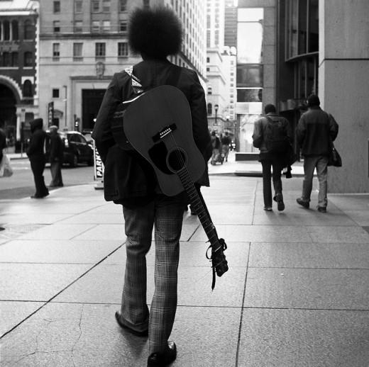 Full-time musician