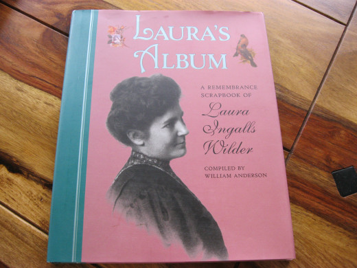 Laura's Album, A Remembrance Scrapbook of Laura Ingalls Wilder, William Anderson, is a treasure of photos of Laura and the Ingalls family.