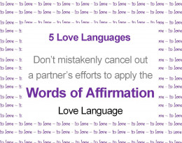 Examples of Gary Chapmans 5 Love Languages