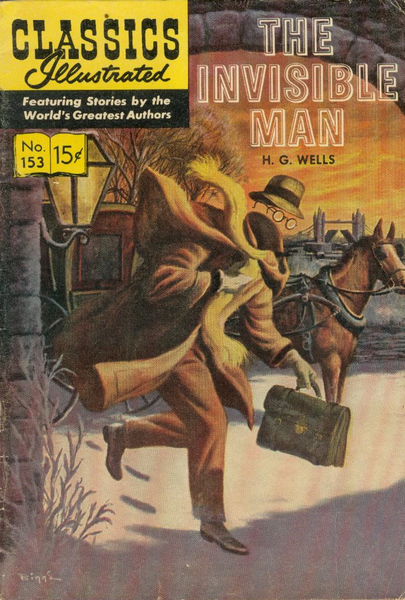 H.G. Wells Invisible Man