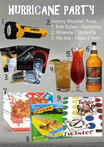 Hurricane Party Supplies
