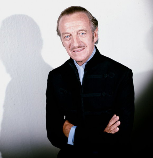 "David Niven starred in ""Around the World in 80 Days"""
