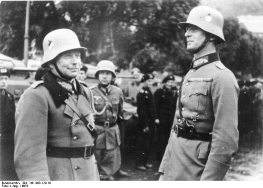 Many consider Guderian to be the father of blitzkrieg.