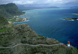The Makapu'u Lighthouse Trail Hike affords gorgeous views of the Pacific Ocean.
