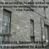 Irish Convicts Women and Children Transported to Australia in 1848