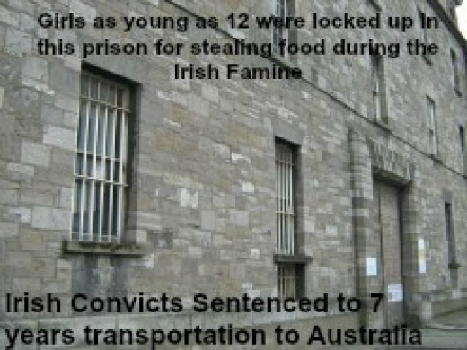Irish Female Convicts Transported To Australia In 1848
